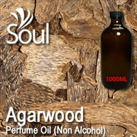 Perfume Oil (Non Alcohol) Agarwood - 1000ml