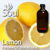 Perfume Oil (Non Alcohol) Lemon - 1000ml