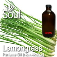 Perfume Oil (Non Alcohol) Lemongrass - 500ml