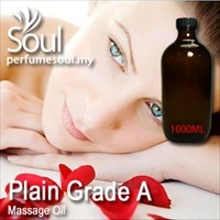 Massage Oil Plain Grade A - 1000ml