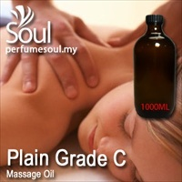 Massage Oil Plain Grade C - 1000ml